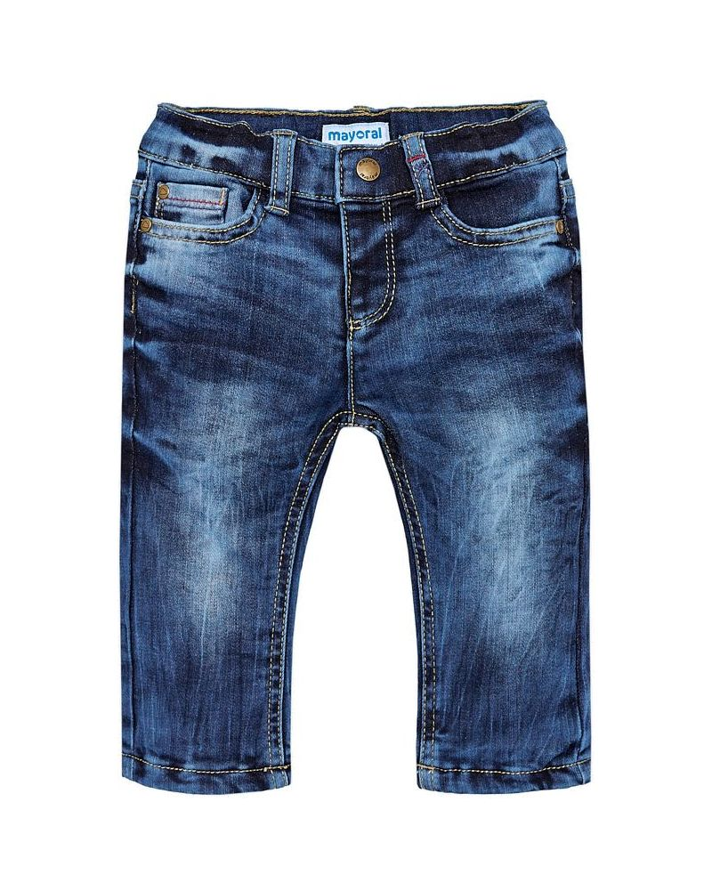 Mayoral Baby Thermo-Jeans blau regular fit