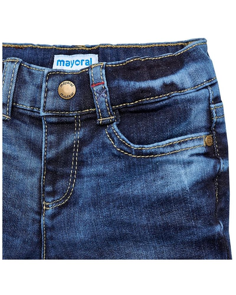 Mayoral Baby Thermo-Jeans blau regular fit – Bild 3