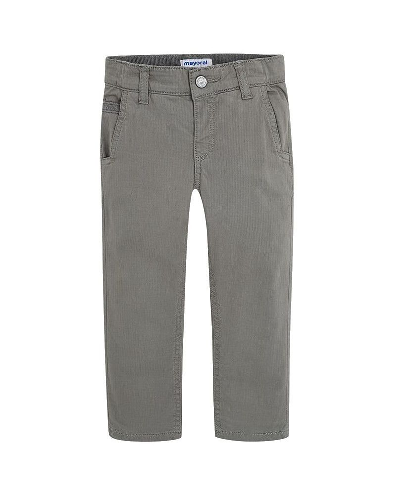Mayoral Jungen Thermohose gefütterte Chino-Hose in grau regular fit
