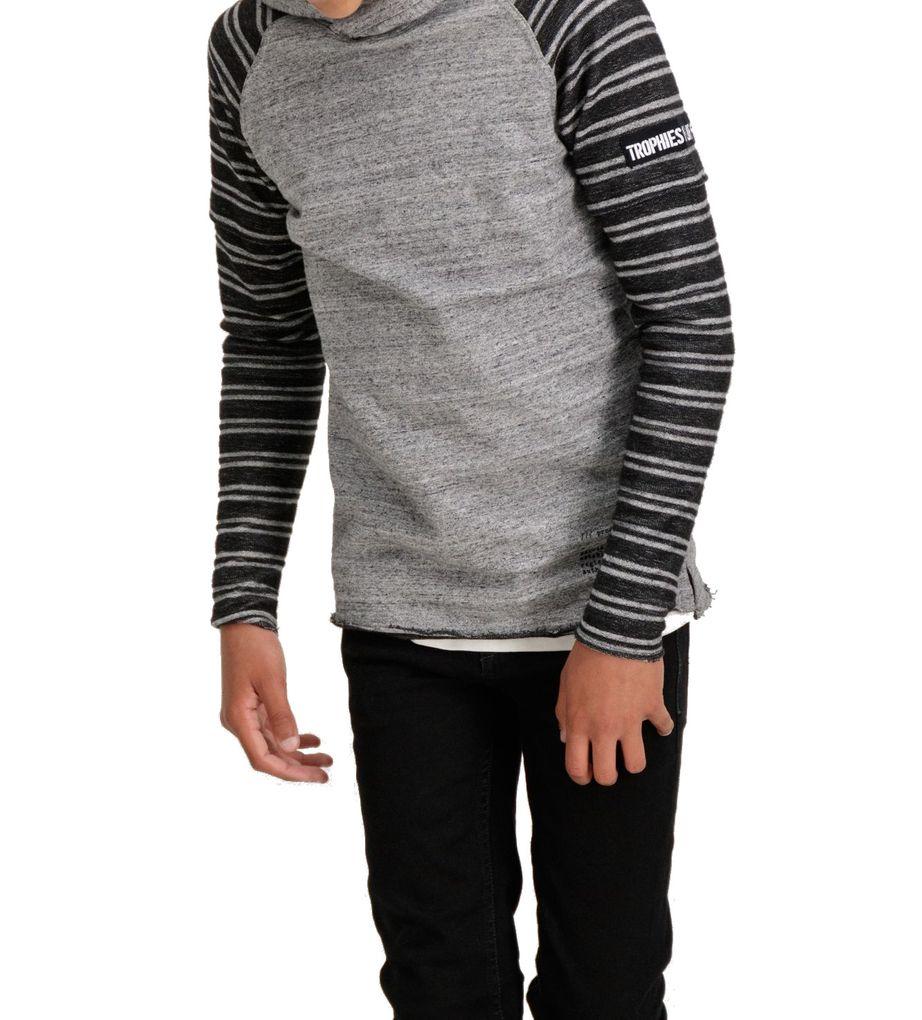 Garcia Jungen Sweatshirt mit Kapuze grey melee – Bild 3