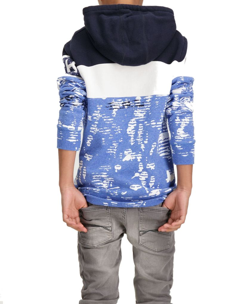 Garcia Jungen Kapuzen-Sweater in dark moon – Bild 4