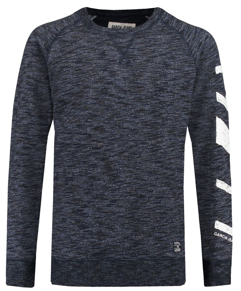Garcia Jungen Sweater angeraut dark moon