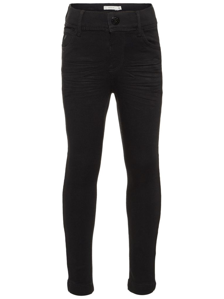 Name it Mädchen Skinny Jeans NKFPOLLY black