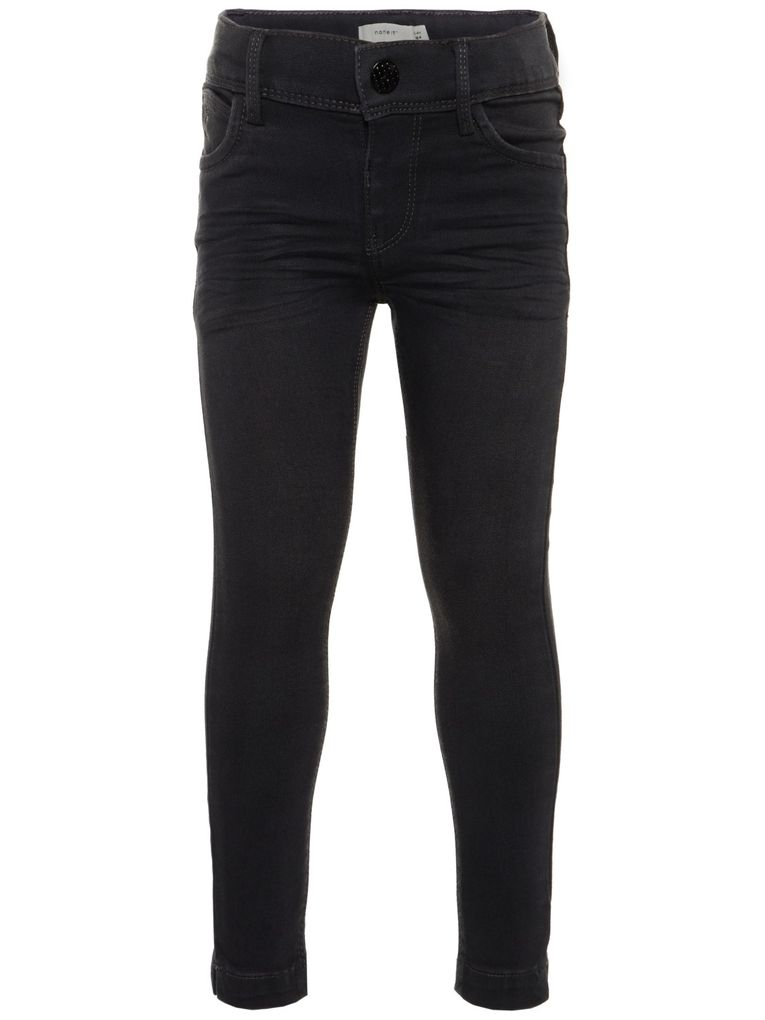 Name it Mädchen Skinny Jeans NKFPOLLY dark grey denim