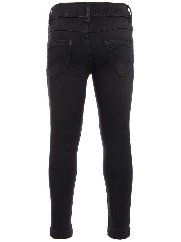 Name it Mädchen Skinny Jeans NKFPOLLY dark grey denim – Bild 2