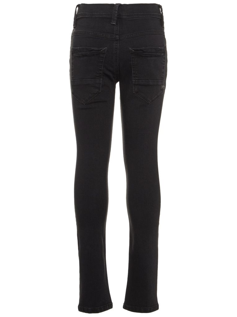 Name it Jungen Jeans slim NKMSilas black – Bild 2
