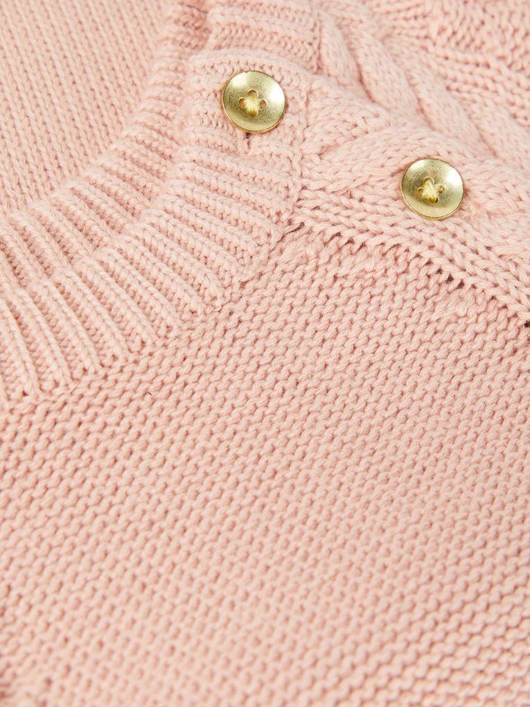 Name it Baby Mädchen Strickoverall eine Bio-Baumwolle NBFOFIA rose cloud – Bild 4