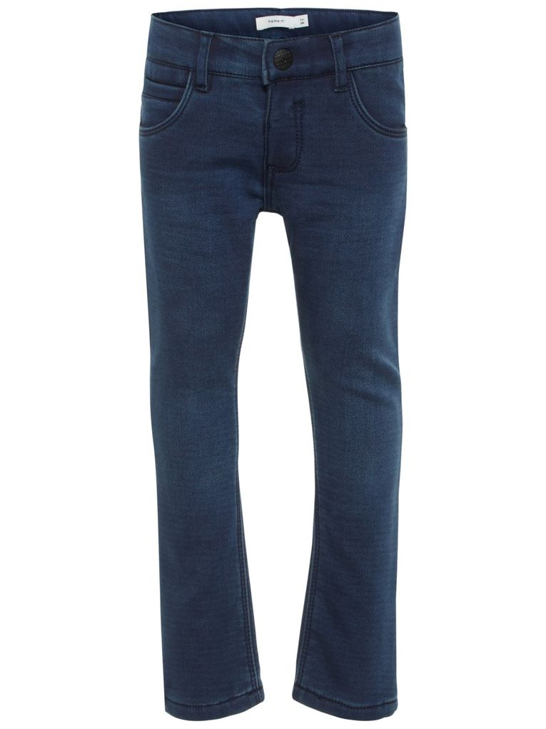 Name it Mädchen Thermo-Jeans mit Innenfleece NMFROSE dark blue denim
