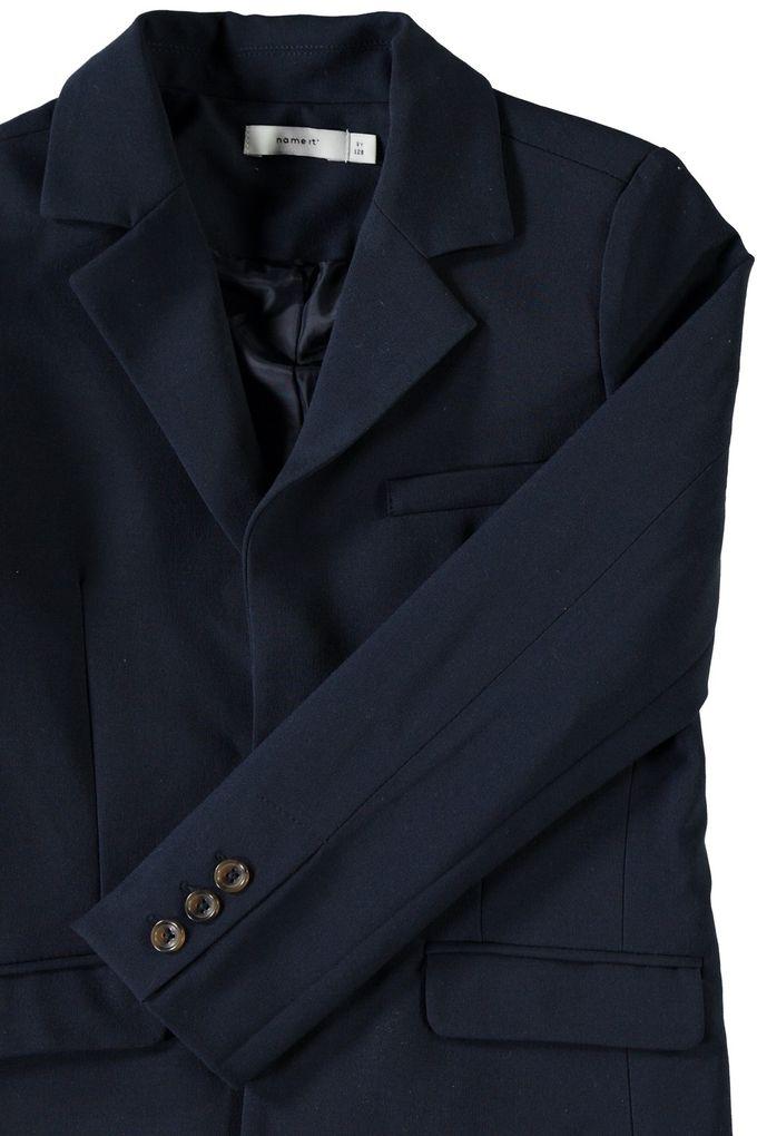 Name it Jungen Anzug-Jacke Blazer Sakko Festmode NKMINGEMANN dunkelblau – Bild 3