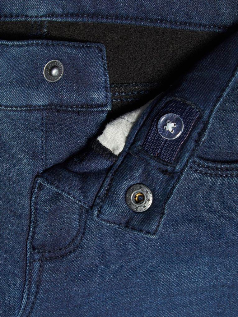 Name it Mädchen Thermo-Jeans mit Innenfleece NKFROSE dark blue denim – Bild 4