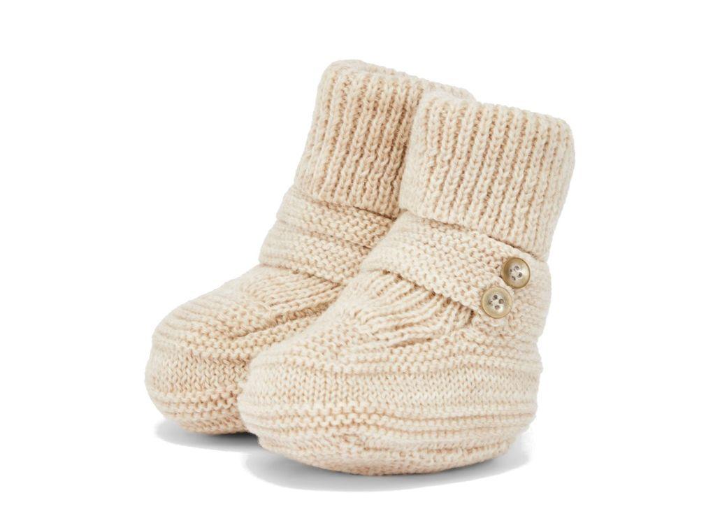Name it Baby Strickschuhe aus Merinowolle natur unisex NBNWRUNI