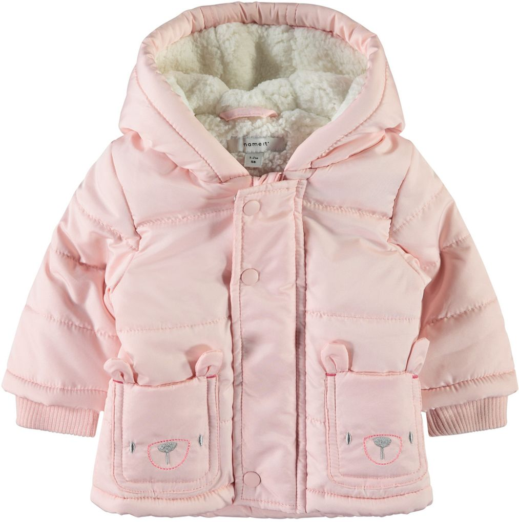 Name it Baby Winterjacke NBFMAKI rosa