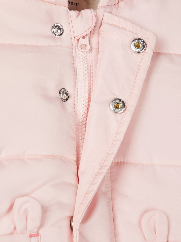 Name it Baby Winterjacke NBFMAKI rosa – Bild 4
