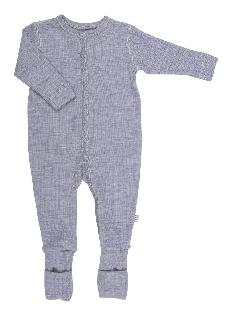 Joha Baby Unisex Schlafoverall aus reiner Merino-Wolle