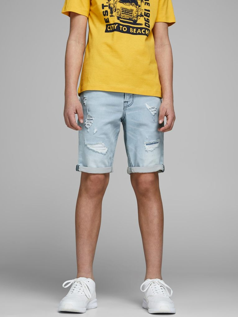 Jack & Jones Jungen Jeans-Shorts regular fit JJICON – Bild 5