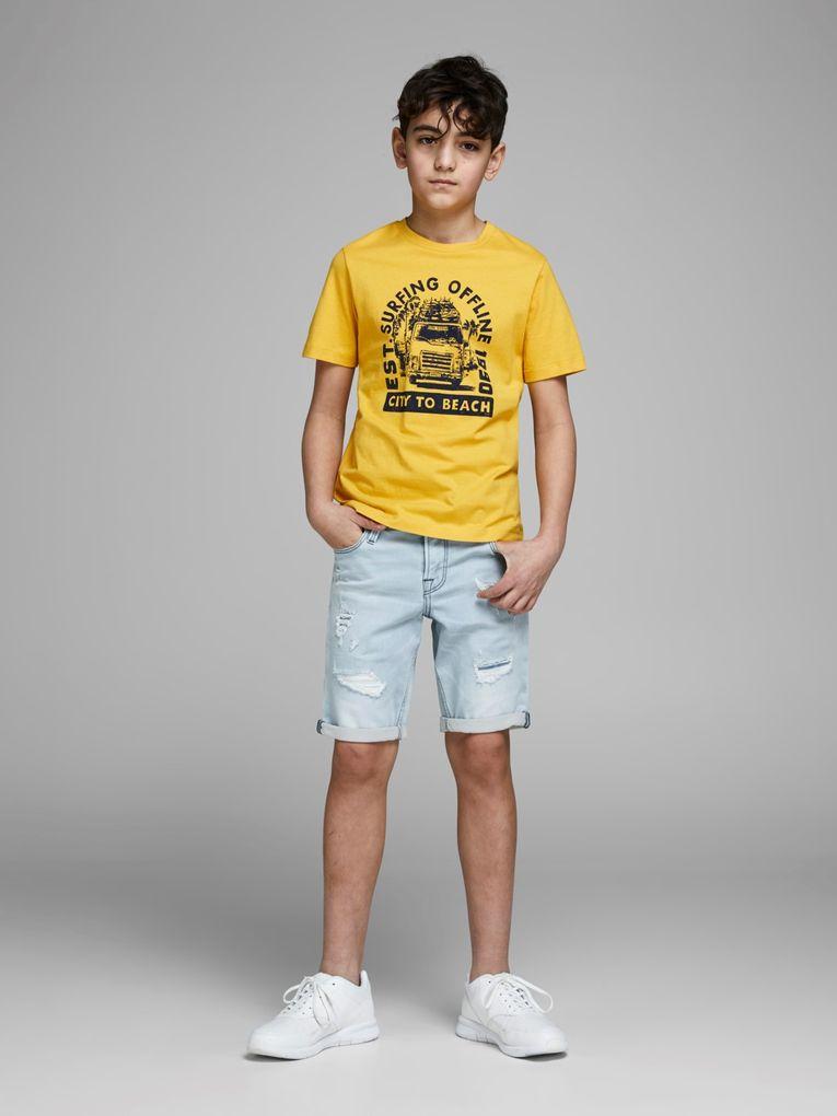 Jack & Jones Jungen Jeans-Shorts regular fit JJICON – Bild 6