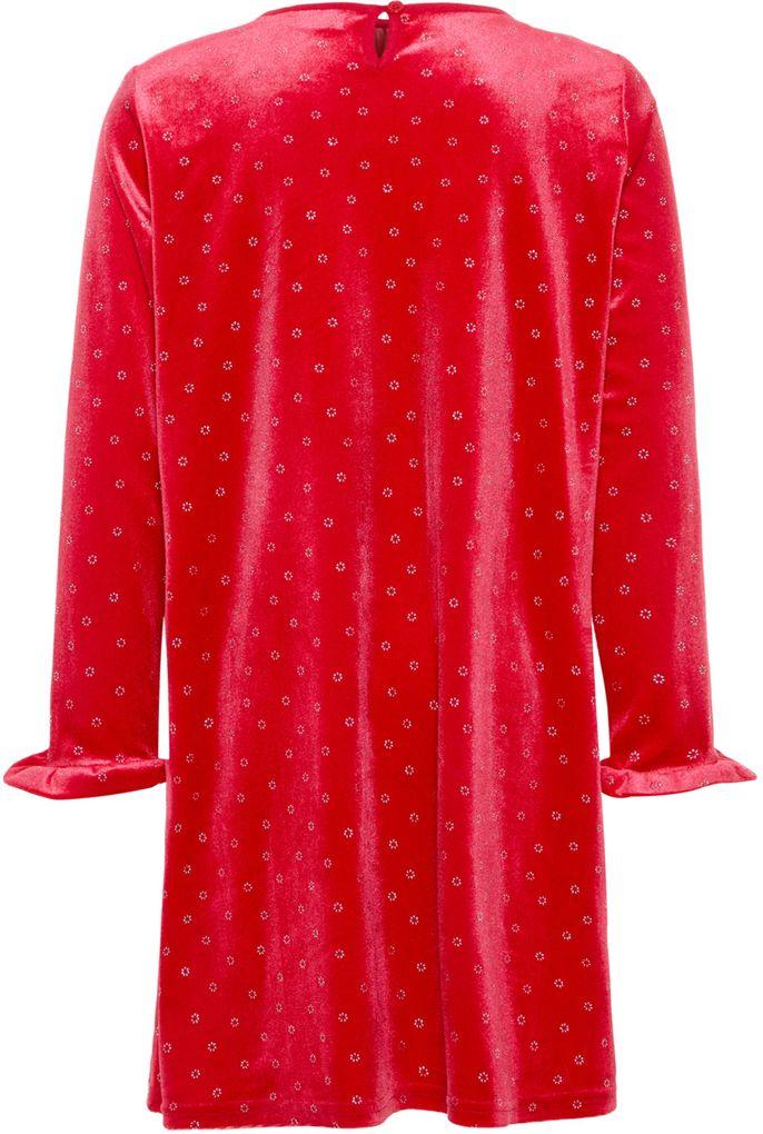 Name it Mädchen Samt-Kleid Festkleid lange Ärmel NKFSISTA – Bild 2