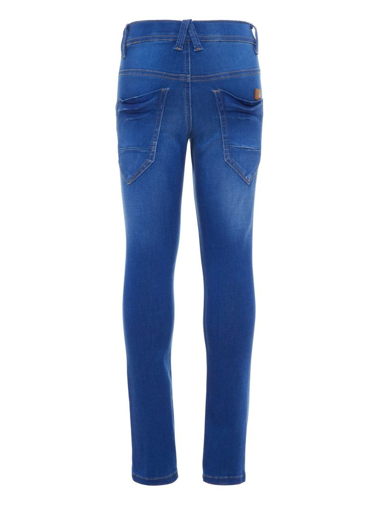 Name it Jungen Jeans Hose xslim Skinny fit NKMTHEO medium blue denim – Bild 2