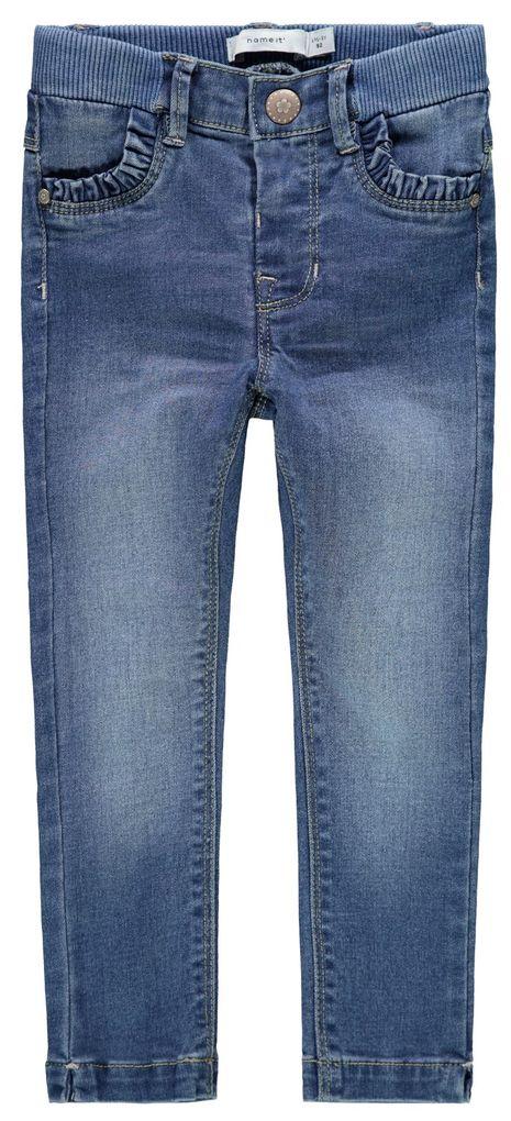 Name it Mädchen Skinny Jeans NMFPOLLY slim fit medium blue denim