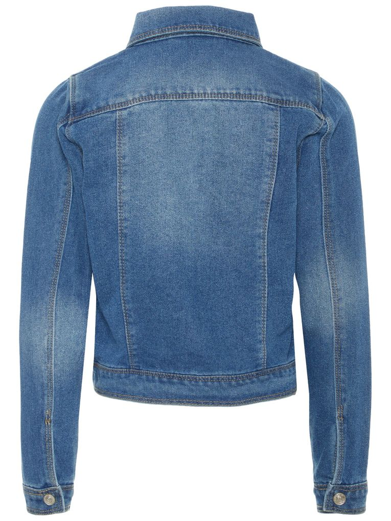 Name it Mädchen Jeansjacke NITSTAR in medium blue denim – Bild 2