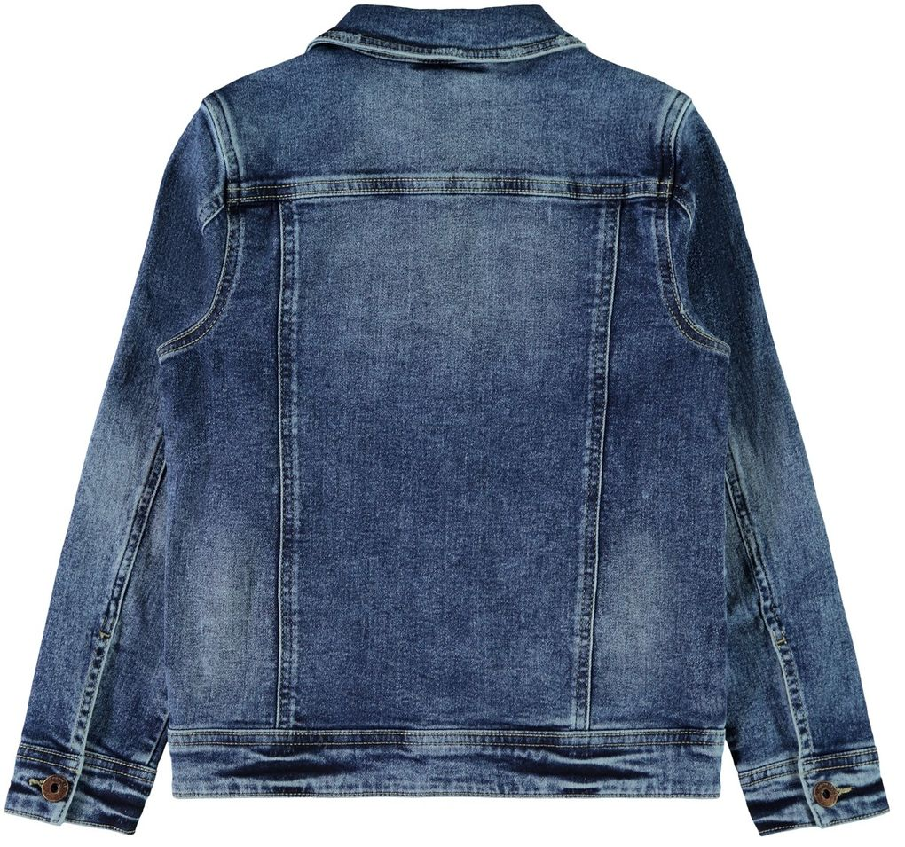 Name it Jungen Jeansjacke NKMTYRION in medium blue denim – Bild 2