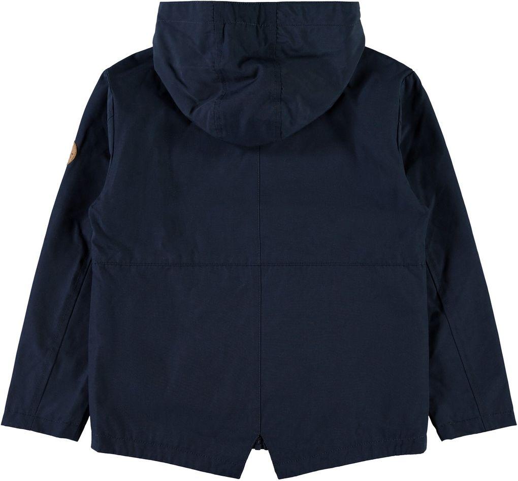 Name it Jungen Übergangs-Jacke mit Kapuze NKMMAEL in dunkelblau – Bild 2