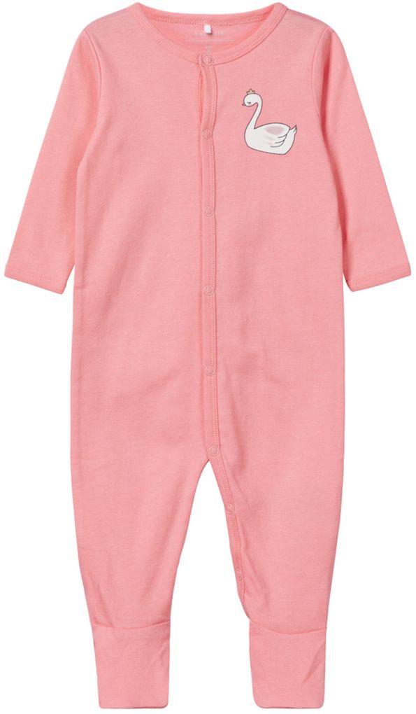 Name it Baby Mädchen Schlafanzug im Doppelpack Schwanenprinzessin – Bild 3