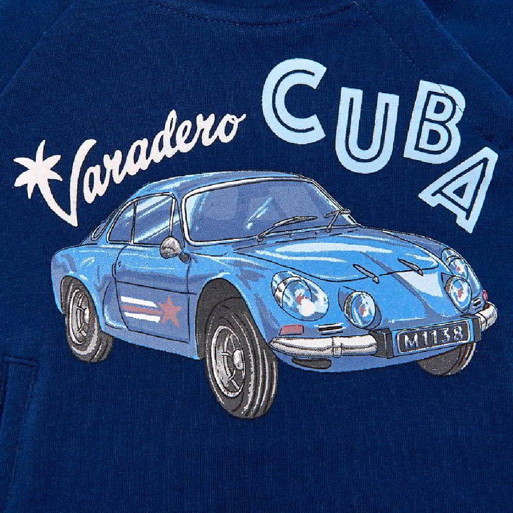 Mayoral Baby Jungen Hoodie mit Kapuze Oldtimer Cuba in steel blue – Bild 3