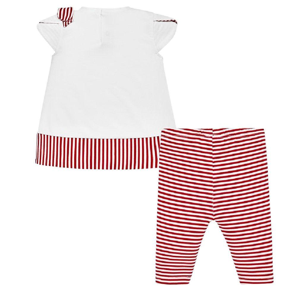 Mayoral Baby Mädchen Sommerset Kleid und Leggings 2-teilig – Bild 2