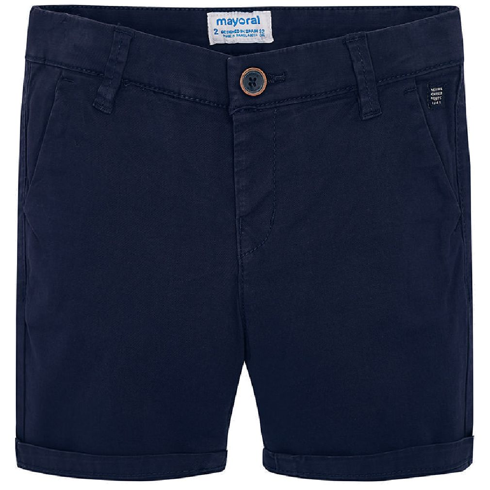 Mayoral Kinder Jungen Chino-Bermuda festliche Long-Shorts marine