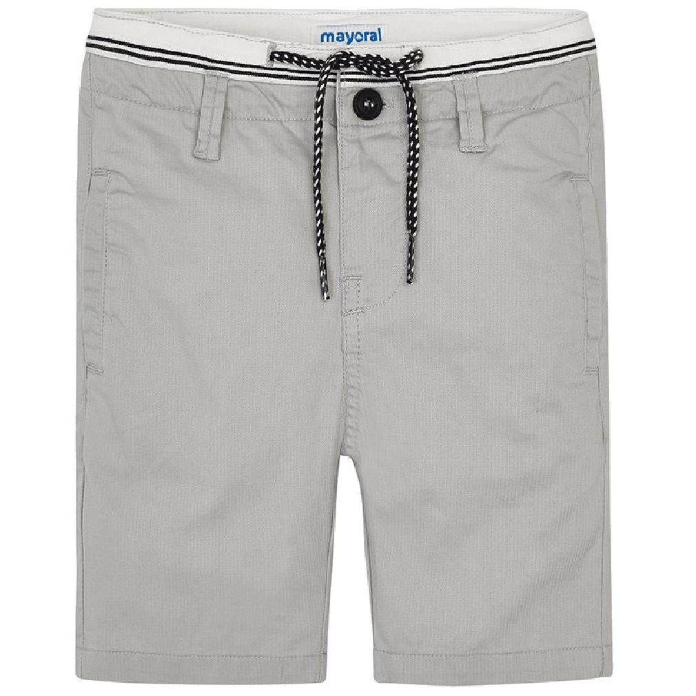 Mayoral Kinder Jungen Chino-Bermuda festliche Long-Shorts grau