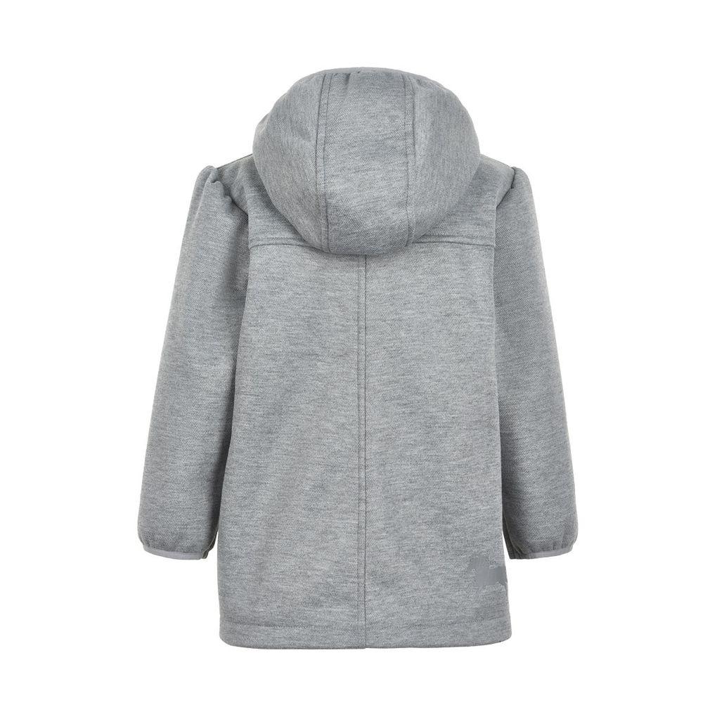 Minymo Mädchen Softshelljacke Übergangsjacke grey melange – Bild 2