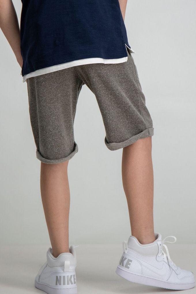 Garcia Jungen Sweat-Shorts kurze Sporthose Baumwolle meliert – Bild 4