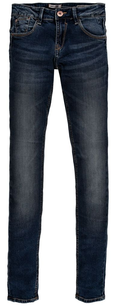 Garcia Mädchen Jeans Hose Skinny Sara 515 slim fit in dark used