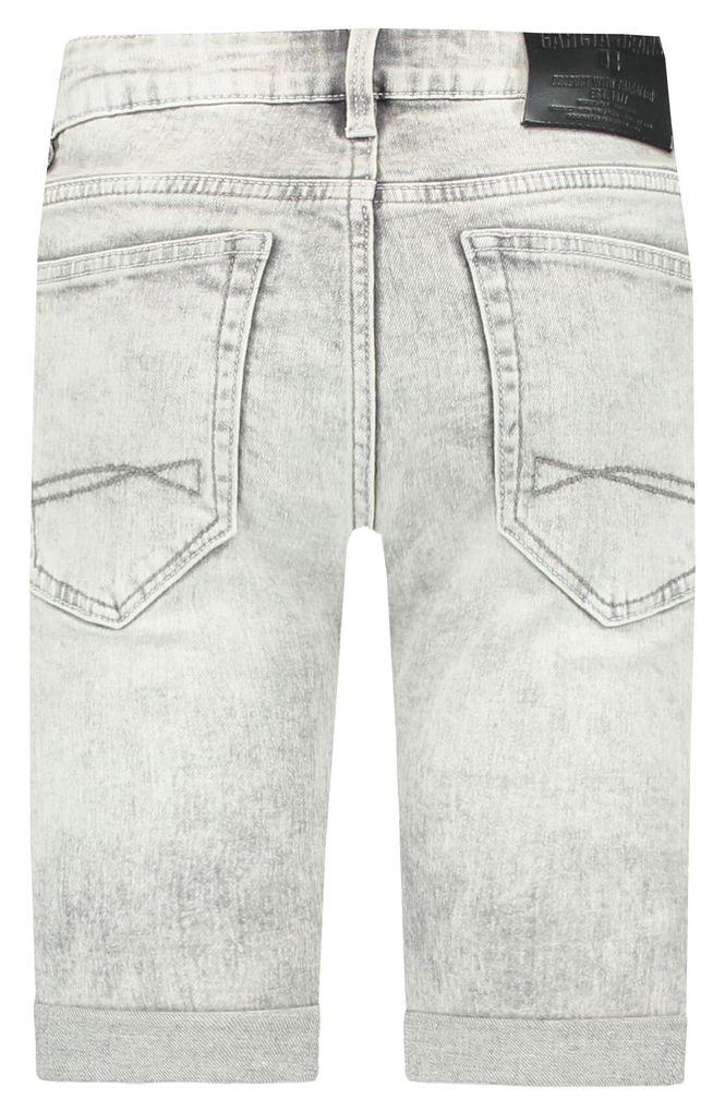 Garcia Jungen Jeans-Bermuda Tavio slim fit in bleached hellgrau – Bild 2