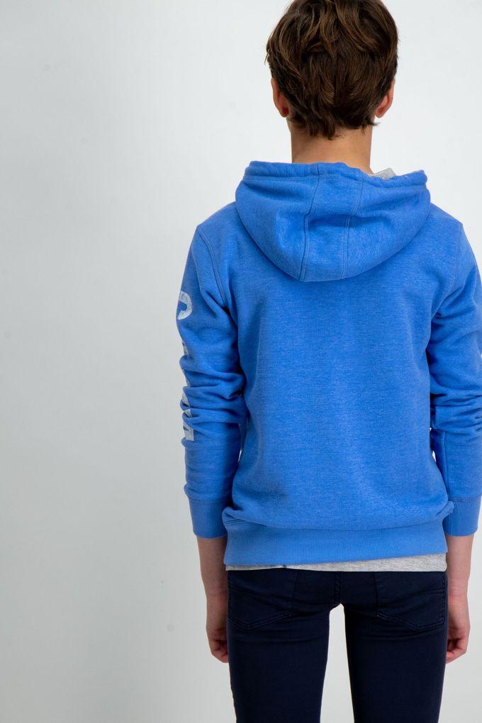 Garcia Jungen Sweatshirt mit Kapuze in baja blue – Bild 3