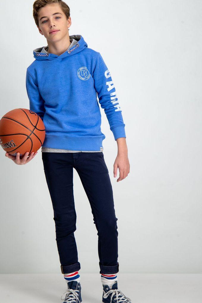 Garcia Jungen Sweatshirt mit Kapuze in baja blue – Bild 5