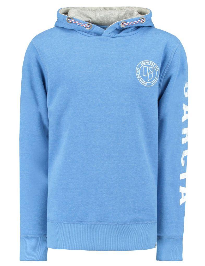 Garcia Jungen Sweatshirt mit Kapuze in baja blue
