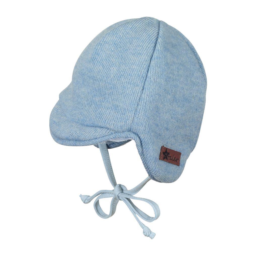 Sterntaler Baby Jungen Winter-Schirmmütze mit Plüschfell-Innenfutter  – Bild 1