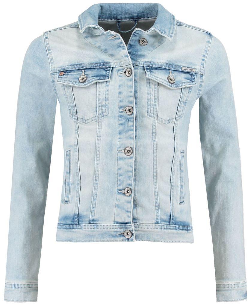 Garcia Mädchen Jeansjacke Chiara Denim Jacket slim in bleached – Bild 1