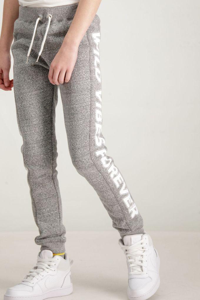 Garcia Mädchen Sweathose Joggpants Sporthose in rock grey – Bild 2