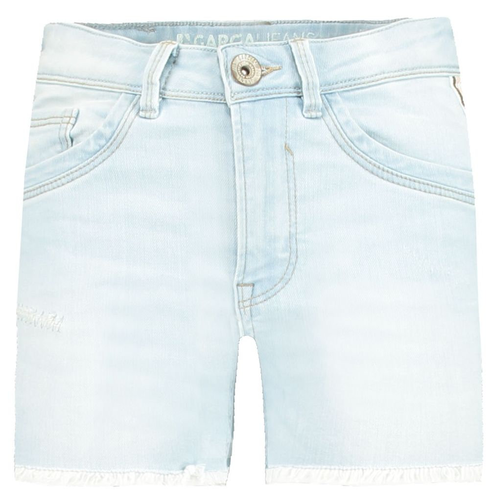 Garcia Mädchen Jeans-Shorts Galon Rianna high waist superslim – Bild 1