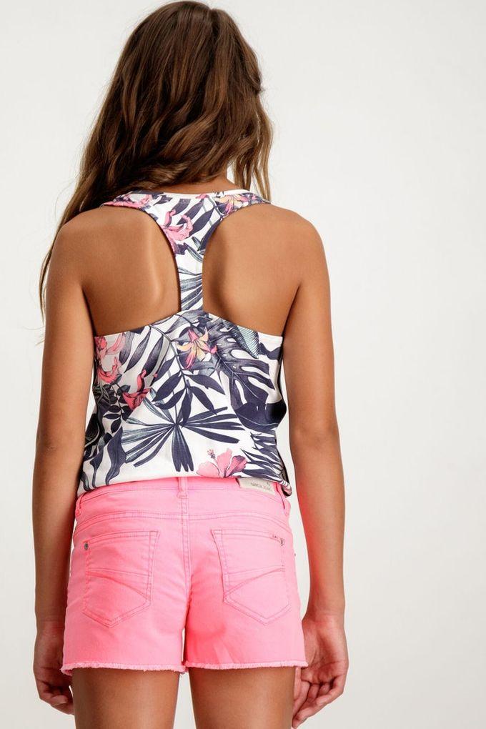 Garcia Mädchen Tank Top ärmelloses Shirt mit Ringerrücken – Bild 4