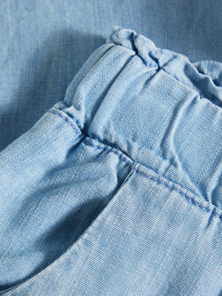 Name it Mädchen Jeans-Bermudashorts loose fit NMFdina Lyocell – Bild 3
