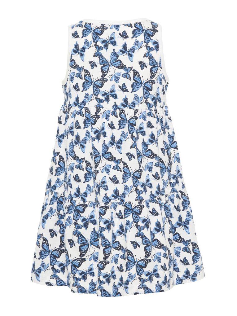 Name it Mädchen Sommer-Kleid Baumwolle Strandkleid NMFvigga – Bild 2