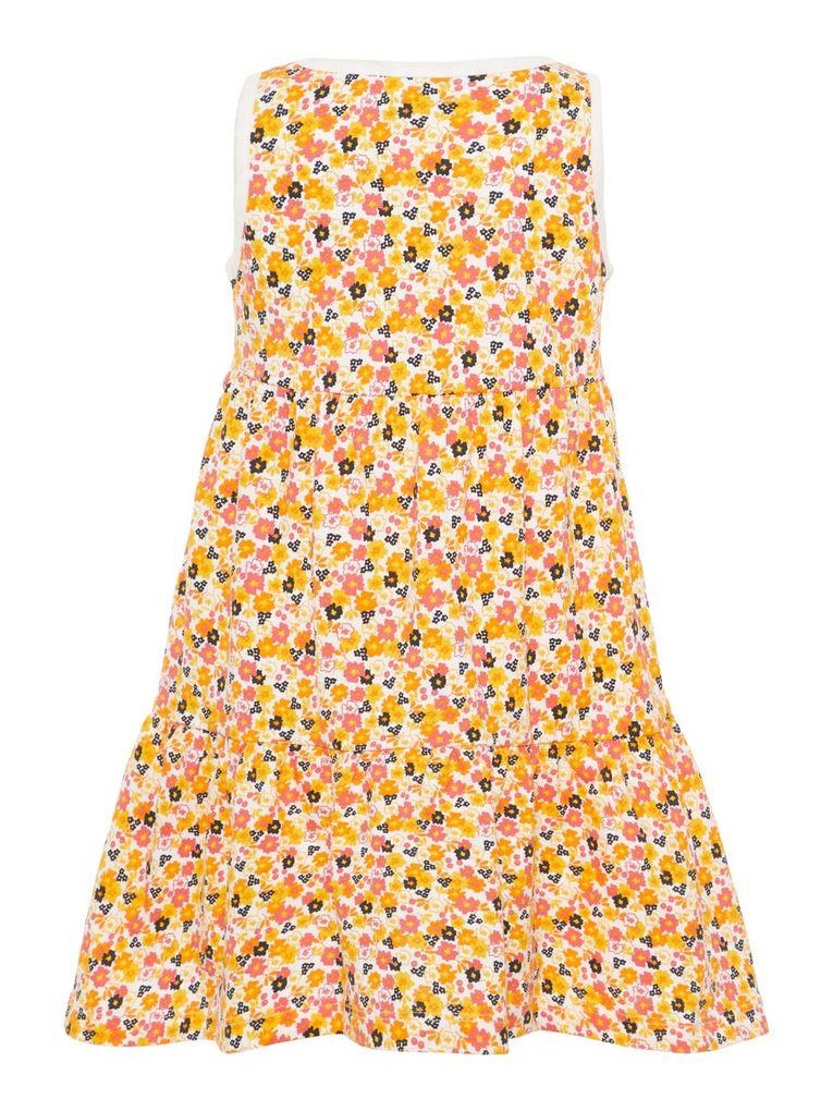 Name it Mädchen Sommer-Kleid Baumwolle Strandkleid NMFvigga – Bild 5