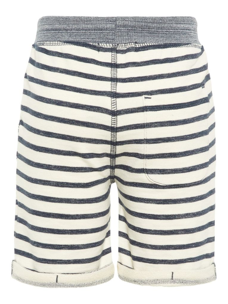 Name it Jungen Sweat Shorts Bermuda gestreift NMMfarik – Bild 2