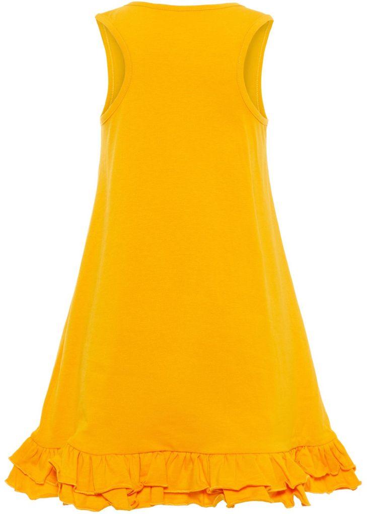 Name it Mädchen Sommer-Kleid Jerseykleid unifarben NKFvione – Bild 2