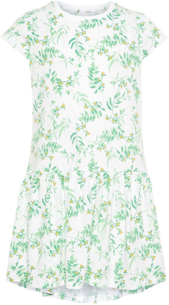 Name it Mädchen Sommer-Kleid Jerseykleid Baumwolle NKFvigga – Bild 1