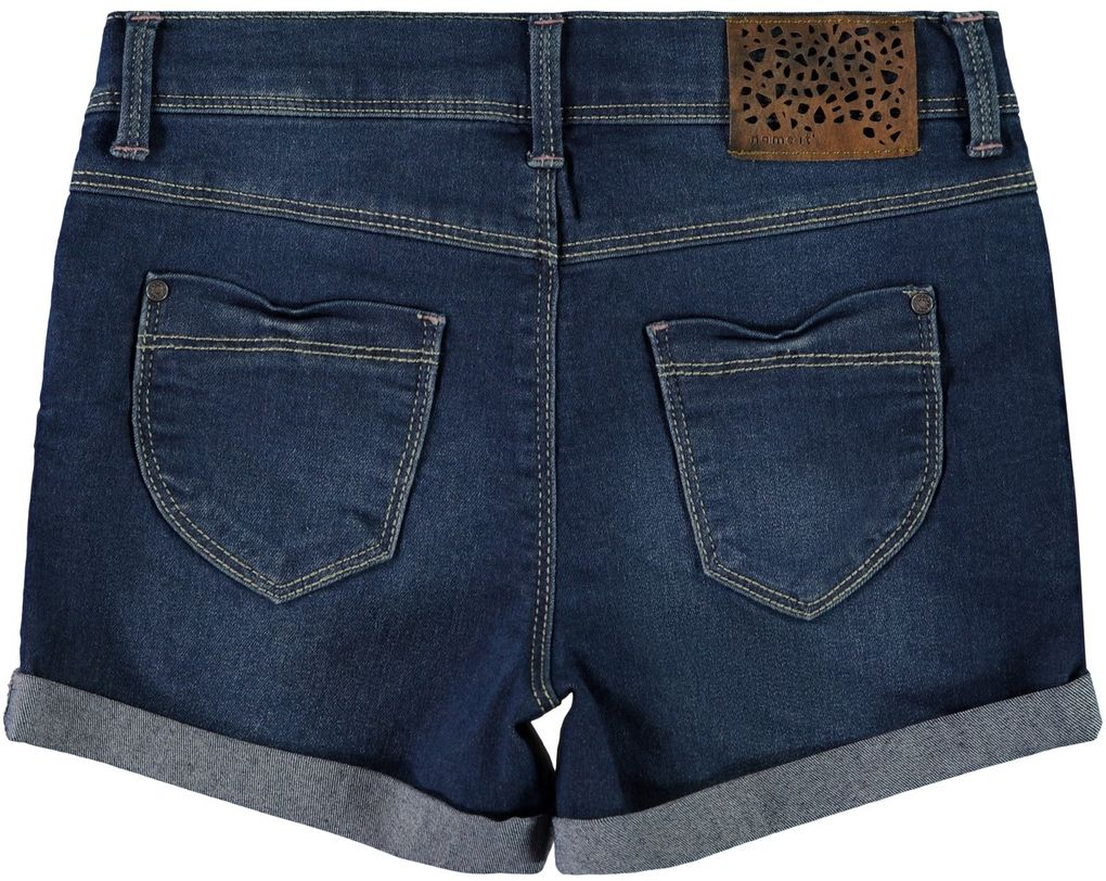 Name it Mädchen Jeans-Shorts slim fit NKFSalli denim – Bild 2